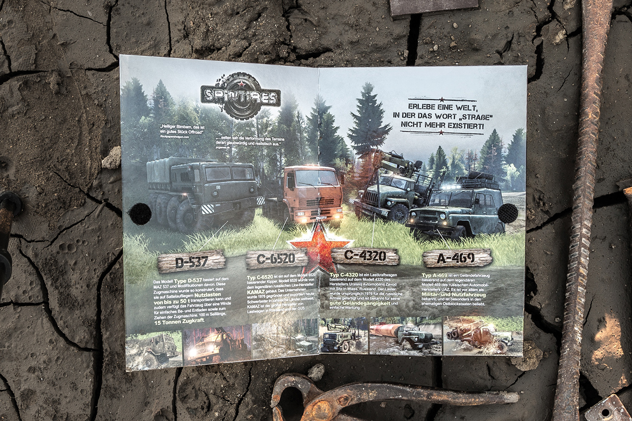 Spintires box