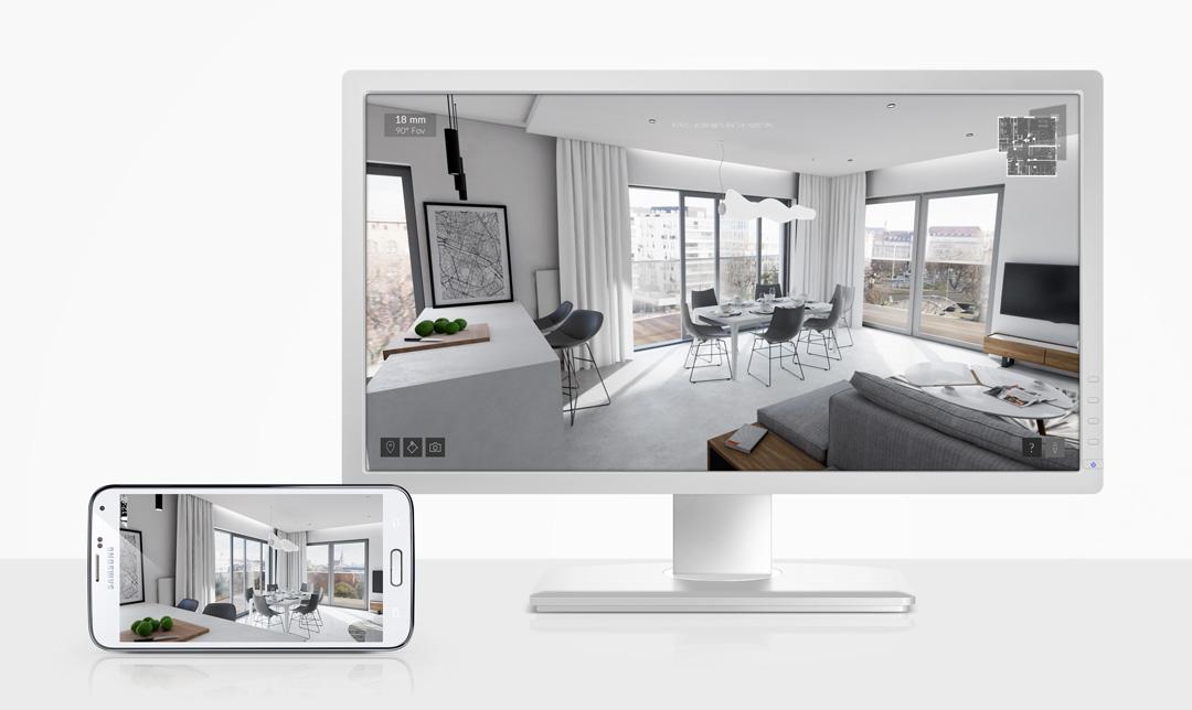 Wizualizacja - wirtualna rzeczywistość