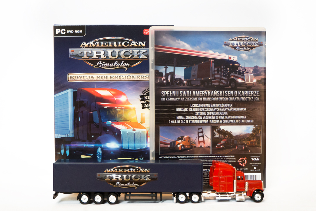 American Truck Simulator graphic designs