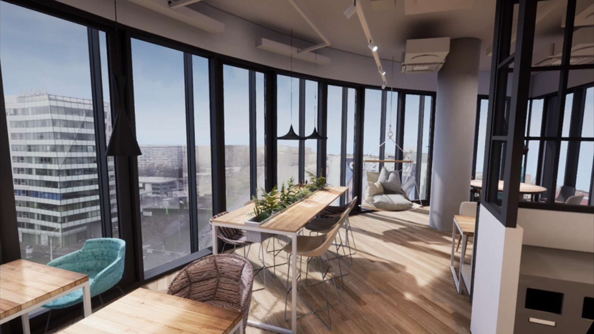 Interaktywne fotorealistyczne wizualizacje dla architektów - ColorDrop Studio - wirtualna rzeczywistość  - wideo sferyczne - aplikacje mobilne - aplikacje PC - wizualizacje Oculus Rift - wizualizacje HTC Vive