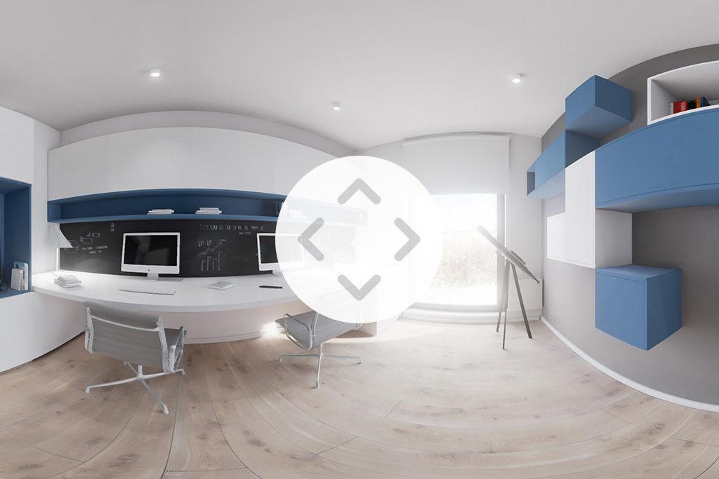 wideo sferyczne 360 wizualizacje architektoniczne